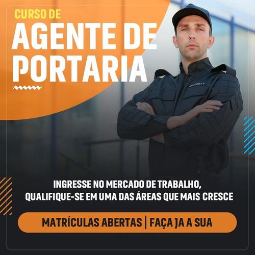 Curso De Agente De Portaria, Com Certificado