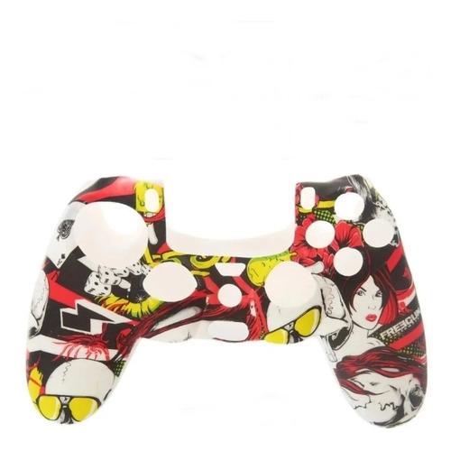 Capa Protetora Para Controle Ps5 Gamepad Silicone Case Color