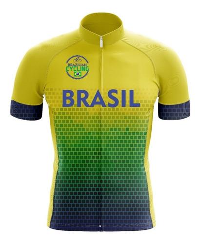Camisa Ciclismo Brasil Mtb *melhor Preço*