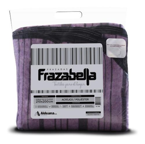 Frazada Aldeana Frazabella Doble Faz 1 Plaza