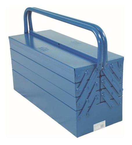 Caixa De Ferramentas Fercar 09 De Metal 20cm X 50cm X 25cm Azul