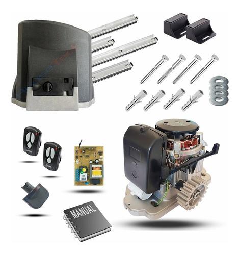 Motor Portão Deslizante Garen  1/4 Hp 400 Kg 2 Controles 3 M