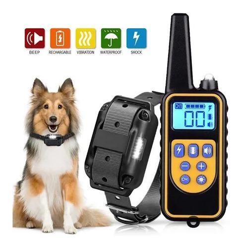 Coleira Eletrônica 800m Do Treinamento Do Cão