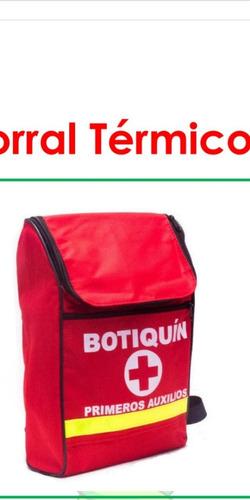 Botiquin Tipo A En Morral Resolucion 0705 De 2007