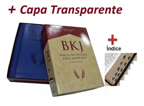 Bíblia De Estudo Bkj King James - 1611 Estudo Holman-índice