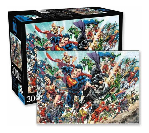 Rompecabezas  3000 Piezas Universo  Dc Comics