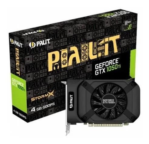 Placa De Vídeo Palit Geforce Gtx 1050 Ti + 4gb Gddr5 128 Bit