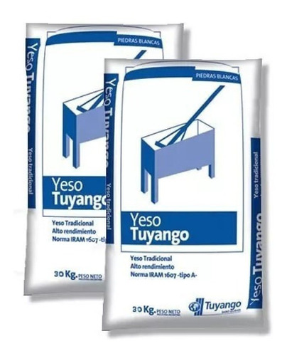 Bolsa Yeso Tuyango X 30 Kg Weber
