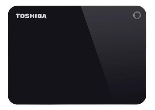 Disco Duro Externo Toshiba Canvio Advance Hdtc910x 1tb Negro
