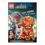 Livro Brinquedo Lego Flash Com Miniatura Personagem