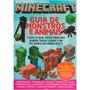 Livro Guia Totalmente Ilustrado Minecraft Monstros Animais