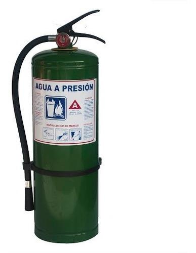 Extintor Agua Presion De 2.5 Gal + Soporte + Señal