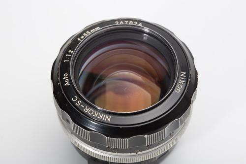 Lente Nikon 55 Mm F1.2 Ai Nikor-sc