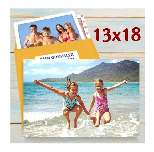 Promo 35 Fotos 13x18 - Fotografia Impresión Revelado Digital