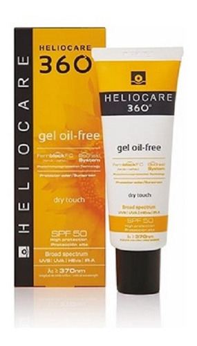 Protector Solar Heliocare 360 Gel Oil-free Dry Touch