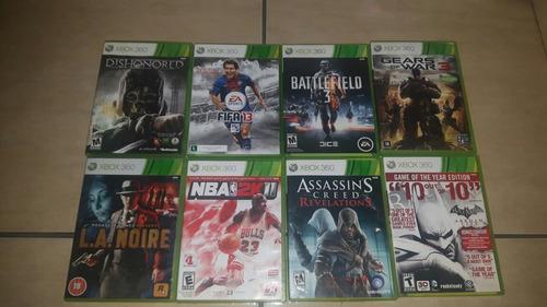 Combo De Jogos Originais Usados Xbox 360