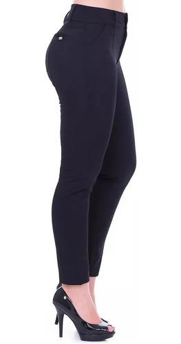 Calça Social Feminina K2b-c/ Elastano Muito Usada P/uniforme