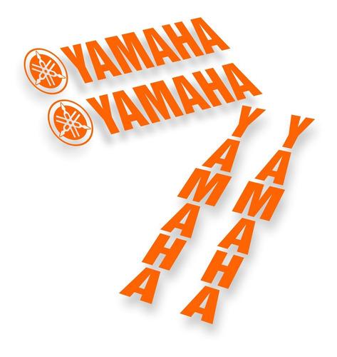 Kit Adesivos Yamaha Bandeja Bengala Várias Cores Top