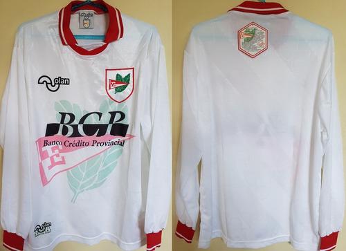 Camisa Futebol Estudiantes Argentina Olan 1996 Manga Longa