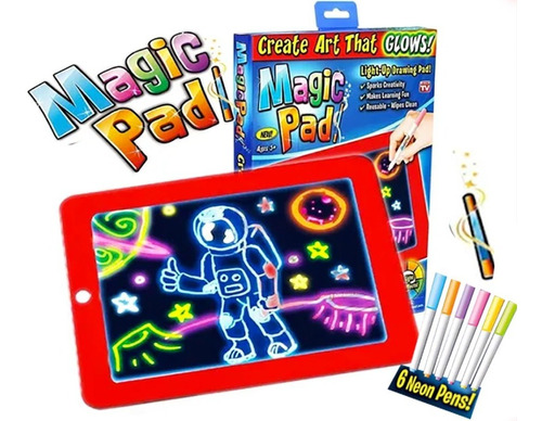 Magic Pad Pizarra Magica Neon