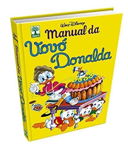 Livro Coleção Hq Manual Da Vovó Donalda Walt Disney Novo