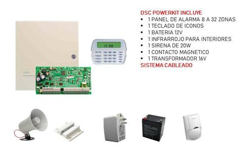 Kit De Alarma Contra Robo Powerkit Dsc