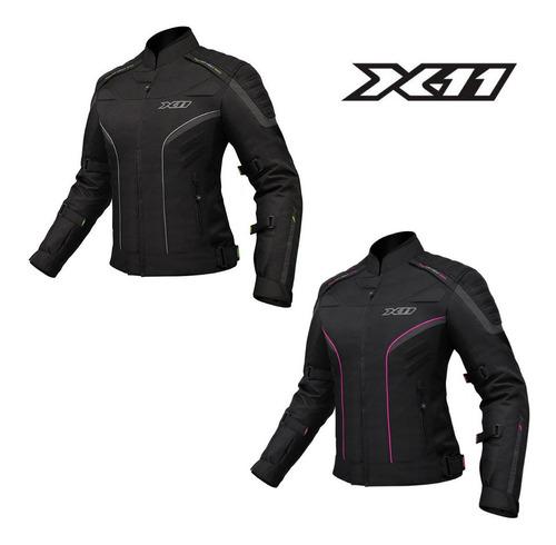 Jaqueta X11 Iron2 Feminina 100% Impermeável Top!