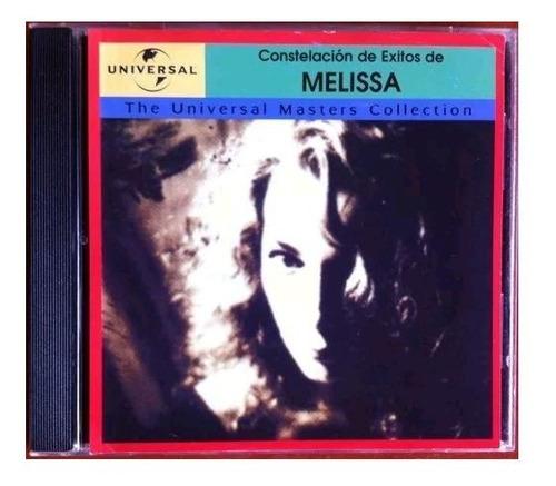 Melissa. Constelación De Exitos. Cd Original, Usado