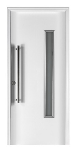 Puerta Exterior Blanca Oblak 1788 Primma Plus 80 Acero Der