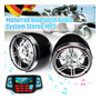 [quente] 3 Polegadas Motocicleta Bluetooth Speaker Mp3 Áudio