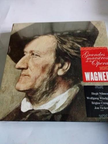 Cds Caja Wagner Grandes Maestros De La Opera
