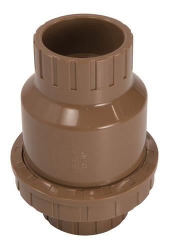 Válvula De Retenção Pvc Soldável De 20mm X 1/2 Polegada