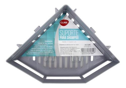 Suporte Shampoo Cond Sabonete Box Cantoneira Canto Plastico