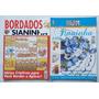 Kit C/2 Revistas Sianinha Bordados Roupinhas De Bebês Flores