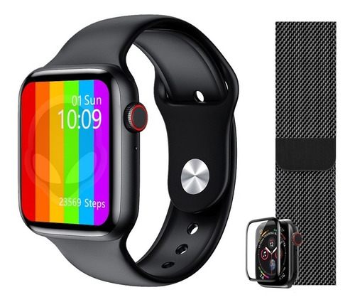Iwo W26 Smartwatch Relógio Ios Android Atualizada Iwo 8 Lite