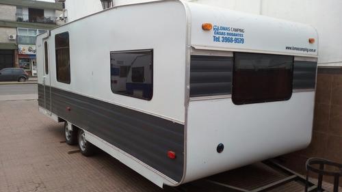 Casa Rodante Modelo 600 Equipada Full Lomas Camping Ronik