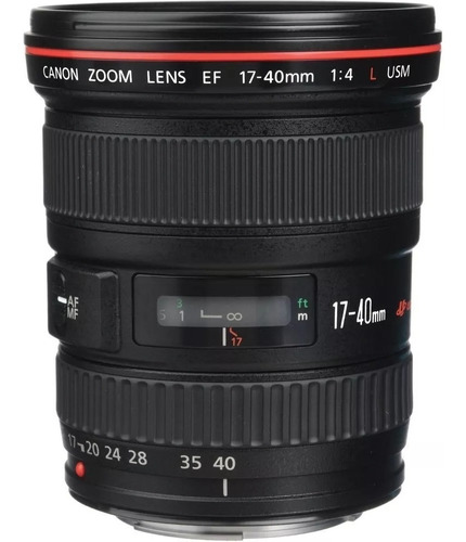 Lente Canon Ef 17-40 Usm  F4l  Ultrasonic  Caja