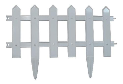 Cerca Plástica Para Jardín 50 Cm Set X 4   (cubre 2 M.)