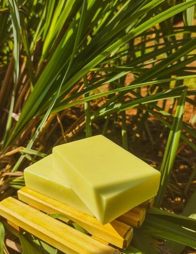 Sabonete Artesanal De Citronela C/ Saboneteira