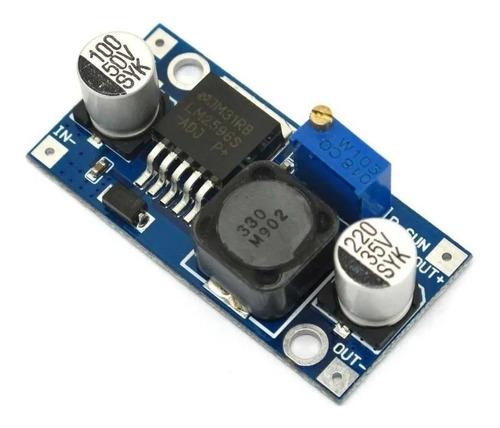 Modulo Fuente Step Down Lm2596 Lm 2596 1.25v 35v Unoelectro