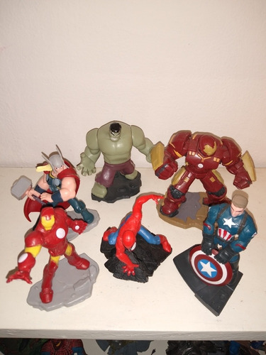 Figuras Disney Infinity (el Precio Es Por Todos) Son Copias