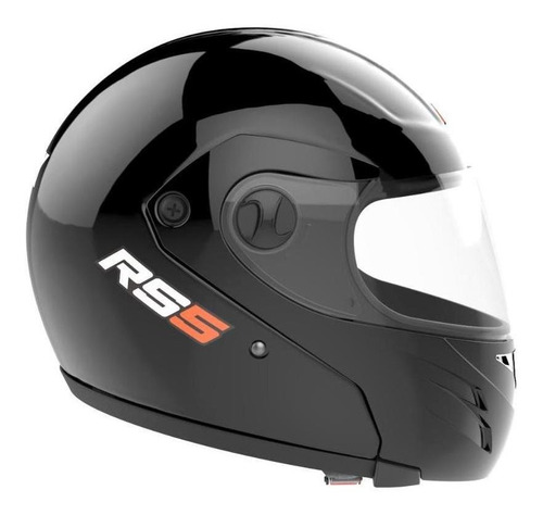 Casco Para Moto Integral Hawk Rs5 Negrosolid Talle L