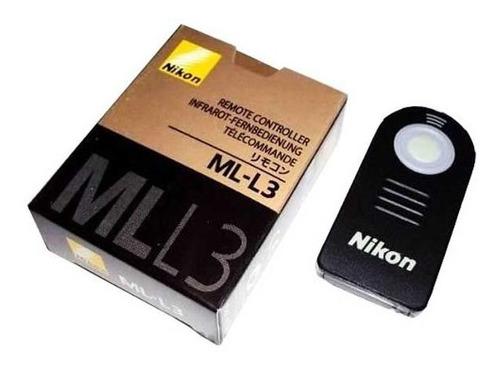 Controle Remoto Nikon Ml-l3 Original D3000  D5000 D7000