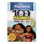 100 Páginas Para Colorir Moana