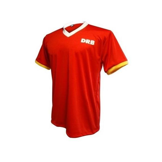 Camiseta De Fútbol Flash Dribbling Uniformes Equipos Rojo