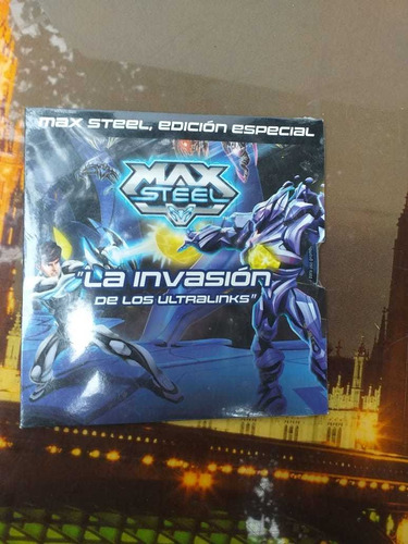 Max Steel Invasión De Los Ultralinks Pelicula Dvd