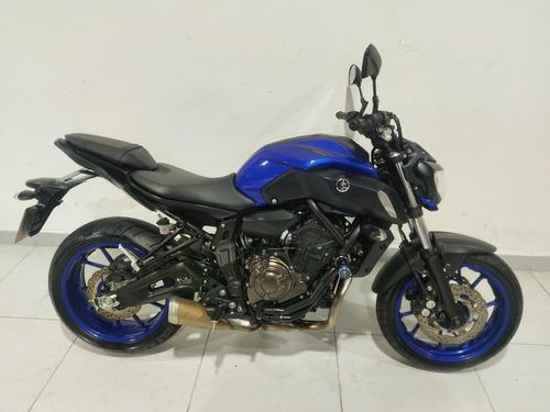 Yamaha Mt-07 Abs Azul 2020