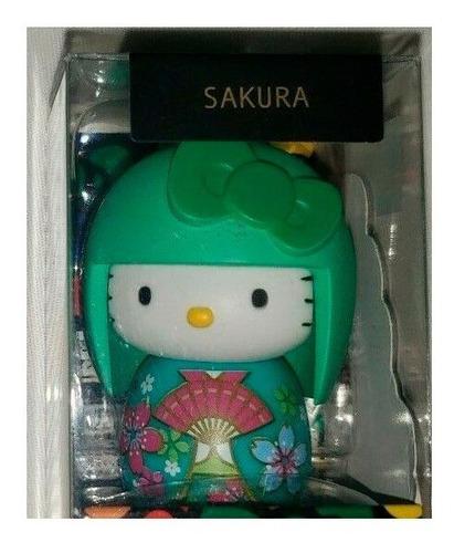 Kokeshi Muñeca Japonesa Hello Kitty Ed. 40 Aniv Original