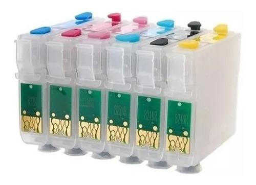 Cartuchos Recargables Epson 82 T50 R290 Tx700 Vacíos