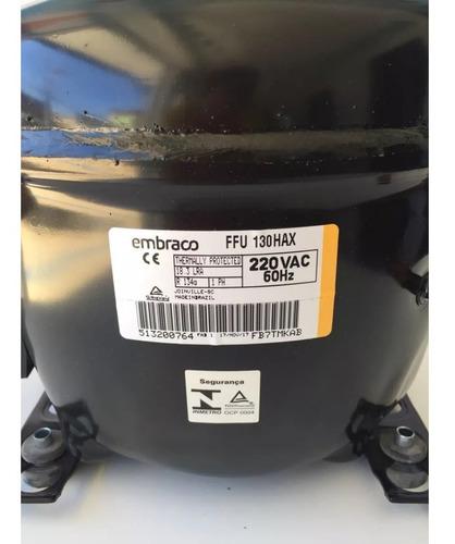 Motor Compressor Embraco 1/3+ 220v Geladeira Freezer R134